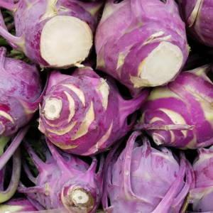 Kohlrabi - Purple